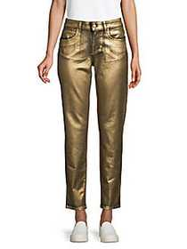Versus Versace Ankle Jeans GOLD