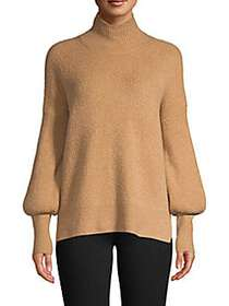 French Connection Camel Flossy Turtleneck CAMEL