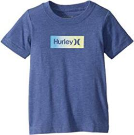 Hurley Kids One and Only Box Logo Graphic Long Sle