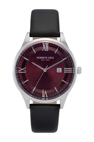 Kenneth Cole New York Men's Classic Leather Strap