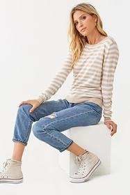Forever21 Striped Print Sweater