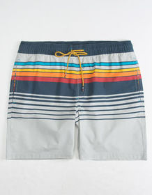 VALOR Fred Stripe Mens Volley Shorts_