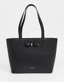 Ted Baker Jessica bow shopper bag