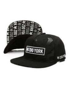 Zoo York 6-panel jersey knit snapback hat