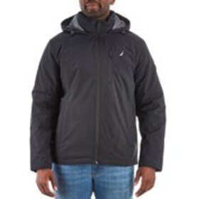 Mens Hooded Stretch Active Jacket