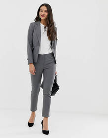 Oasis slim leg pants in gray