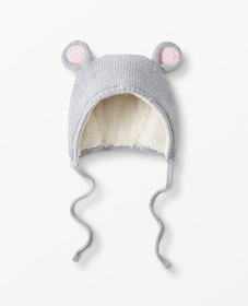 Hanna Andersson Fable Sweaterknit Hat in Heather G