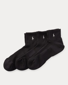 Ralph Lauren Quarter Sport Sock 3-Pack