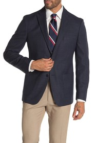 Tommy Hilfiger Weave Blue Two Button Performance F