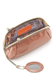 Hobo Bliss Frame Top Leather Pouch