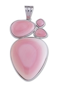 Samuel B Jewelry Sterling Silver Pink Conch Shell