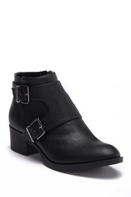 Kenneth Cole Reaction Re-Belle Monk Strap Ankle Bo