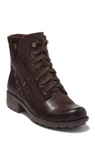 Rockport Brunswick Embossed Leather Lace-up Boot