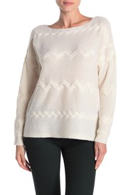 In Cashmere Boat Neck Cashmere Sweater