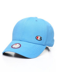 """Champion classic twill hat with """"c"""" patch"""