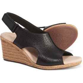 Clarks Lafley Rosen Wedge Sandals - Leather (For W