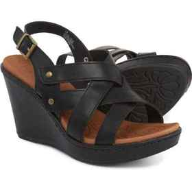 b.o.c Star Wedge Sandals (For Women) in Black