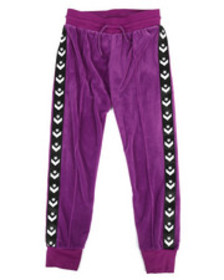 Converse star chevron velour track pants (7-16)