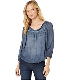 Tommy Hilfiger Long Sleeve Peasant Top
