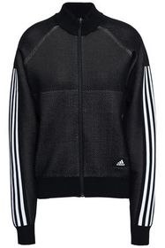 ADIDAS Striped mesh track jacket