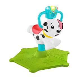 Fisher-Price Bounce and Spin Interactive Puppy wit