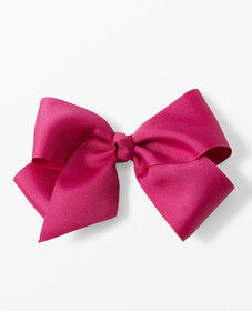Hanna Andersson Really Big Ribbon Bow Clip in Mulb