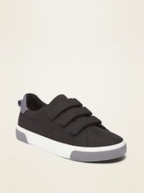 Triple-Strap Secure-Close Sneakers for Boys