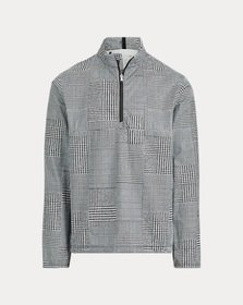 Ralph Lauren Glen Plaid Half-Zip Jacket