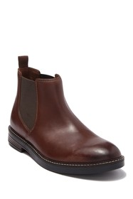 Clarks Paulson Up Leather Chelsea Boot