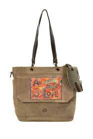 Vintage Addiction All You Need Is Love Messenger B