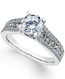 Diamond Engagement Ring (1-3/4 ct. t.w.) in 18k Wh