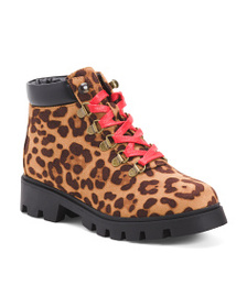 LUST FOR LIFE Lace Up Hiker Boots