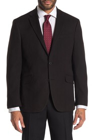 Kenneth Cole Reaction Black Textured Slim Fit Even