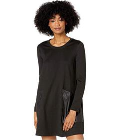 BCBGMAXAZRIA Long Sleeve Knit Dress