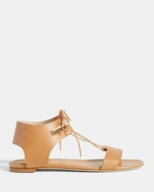 Leather Laced Sandal