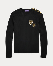 Ralph Lauren Slim Rib-Knit Merino Sweater