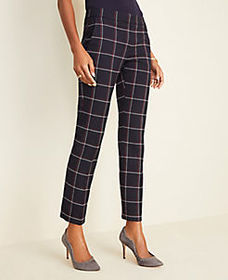 The Petite Ankle Pant in Plaid