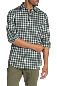 Michael Kors Dex Plaid Print Classic Fit Shirt