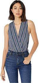 BCBGeneration Surplice Sleeveless Bodysuit THD1246