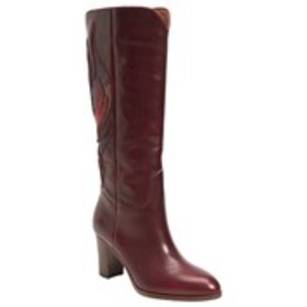 FRYE Frye Womens Leather Snake Accent Boots