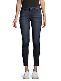DL1961 Florence High-Rise Skinny Ankle Jeans REDMO