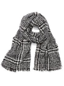 Houndstooth Blanket Scarf - New York & Company