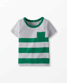Hanna Andersson Sueded Jersey Colorblock Tee in Fj