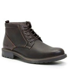 Mens Lace-Up Ankle Boots