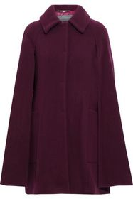 ALBERTA FERRETTI Wool and cashmere-blend cape