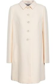 VALENTINO Split-back wool and silk-blend coat