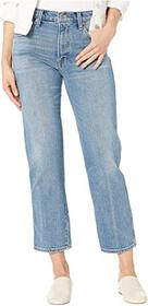 Lucky Brand Authentic Straight Crop Jeans in Louis