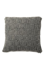 UGG Grey Knitted Chunky Pillow - 20\