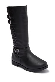 Nicole Miller Brianna Tall Quilted Boot (Toddler