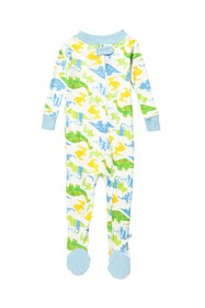 Rosie Pope Dino Zip Footie (Baby Boys)